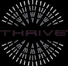 thrive logo gray